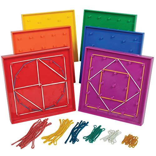 6-Piece edxeducation Double-Sided Geoboard Only $10.79 (Retail $15.07)