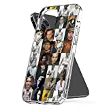 Phone Case Compatible with iPhone 8 Se 6 Xr 11 12 X 2020 7 Johnny 6s Depp Plus Collage Xs Pro Max Mini Mixed Jumbo Photo Collage Media Combine