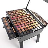 YANE Palette di Ombretti Rich Colors Makeup Kit Set Colorato Naturale Make Up Professional Box Scatola di Cosmetici di Bellezza,Color 2