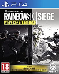 The Advanced Edition Includes: Tom Clancy's Rainbow Six: Siege Standard Game 10 Outbreak Collection packs, including items from the time-limited Outbreak Collection (Available 6th March 2018, may be subject to change) 600 R6 Credits Choose from a var...