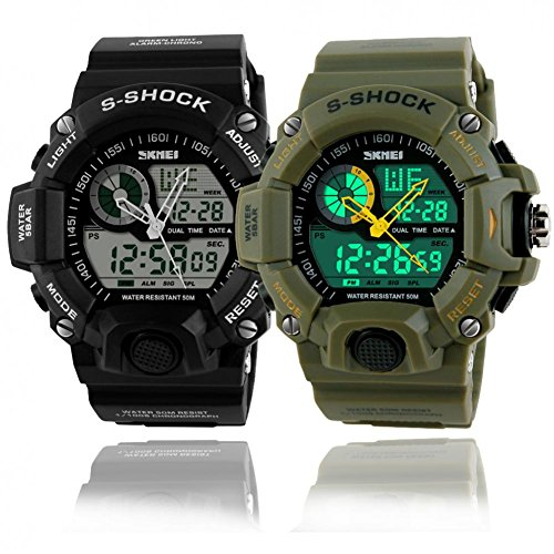 1e2da501ddc If you want to buy Orders Forever G Style Sports Watches Men Military  Wristwatch Army Fashion Digital Analog S Shock Watch Quartz... good quality  at ...