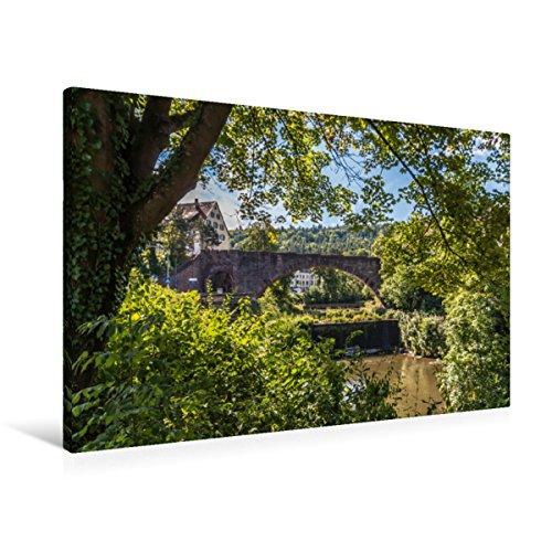 CALVENDO Pforzheim - Puente de Arco en Piedra Blanca, 90x60 cm