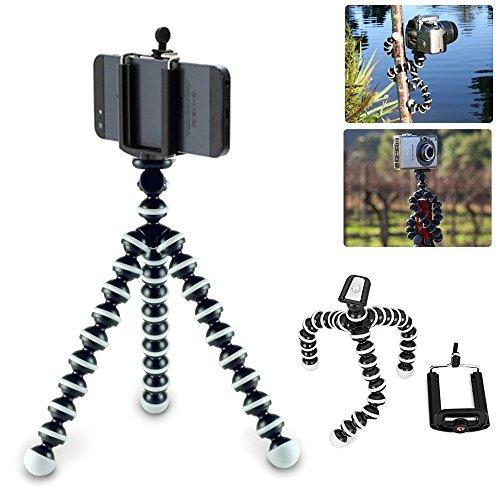 Flexibles Stativ für Smartphone oder Handy, Länge 16cm, verstellbar von 6bis 8,5cm