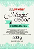 Pavoni Italia S.P.A Magic Decor Pulver 500g, 1er Pack (1 x 500 g)