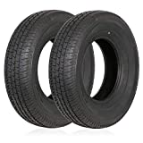 Weize Set of 2 ST205/75R14 Radial Trailer Tire, 8 Ply...