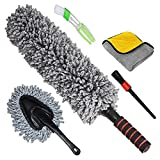 Best Car Dusters - Car Duster Exterior Interior Brush, Set of 5, Best Review