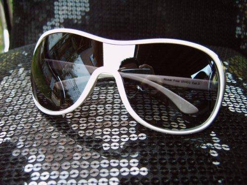 RAVS model RAY zonnebril wit - nieuw model -