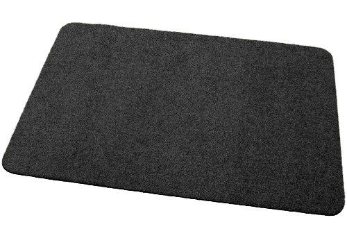 Deko-Matten-Shop Fußmatte Classic, Schmutzfangmatte, rechteckig, 30x50 cm, schwarz, in 13 Größen und 11 Farben