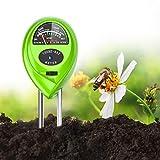 DIDIAN Soil pH Meter, 3-in-1 Soil Moisture/Light/pH Tester, for Garden, Farm, Lawn, Indoor & Outdoor, Lawn Care, Soil Hygrometer Sensor for Gardening, Test Kit for Garden