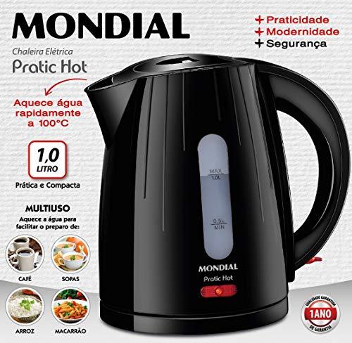 Mondial-Practic-Hot-Kettle-Wasserkocher-Edelstahl