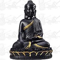 風水座仏像、禅瞑想仏彫刻、家の装飾収集可能な小像