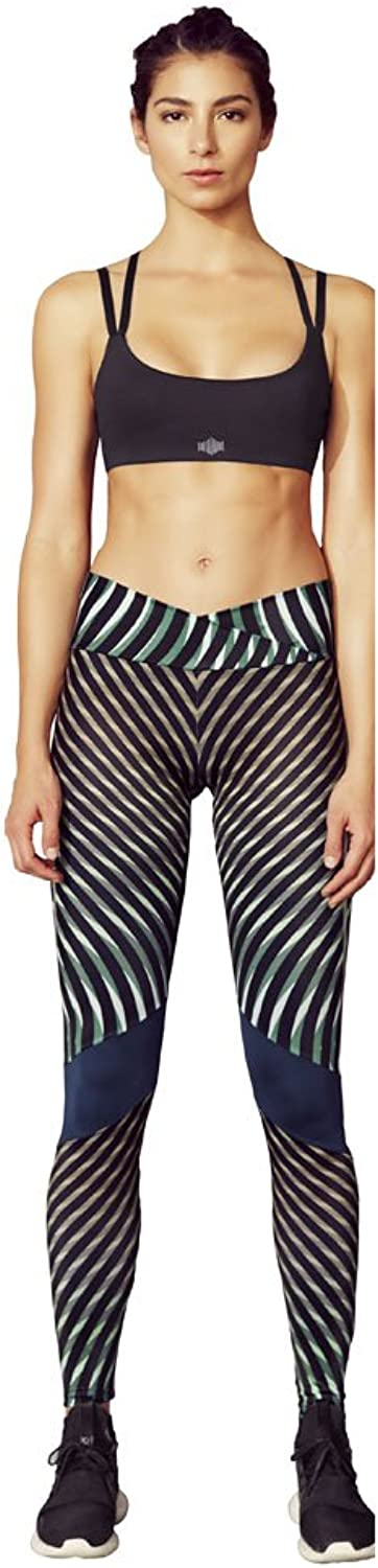 Beat a Bee Women's Flowing Code Cross Legging
