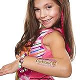 4 x Children's Tattoo - Lost Child - Children's safety tattoo - Emergency number