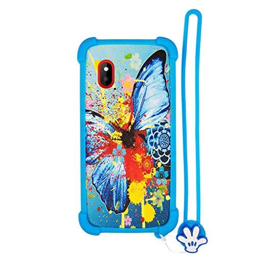 Hülle für WIKO LUBI 3 hülle Silikon Grenze + PC hart backplane Schutzhülle Case Cover HD