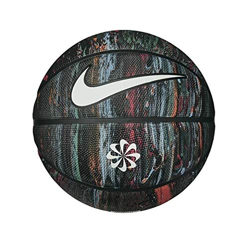 Nike Recycled Rubber Dominate 8P Ball N1002477973; Unisex Basketball Ball; N1002477973_5; Multicolour; 5 EU ( UK)