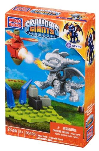 Mega Bloks Skylanders Spyro Gebäude Metallic-Pack