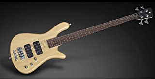Warwick RockBass Streamer Standard 4-String Bass Guitar (Satin Natural)