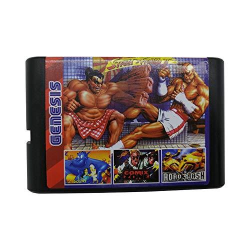 196in1 Game Cartridge Super Combo 16 bit Game Card for Sega Mega Drive Genesis ConsoleSega Mega Drive Genesis Console