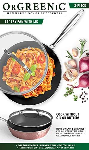 Orgreenic Aluminum Non-Stick Frying Pan
