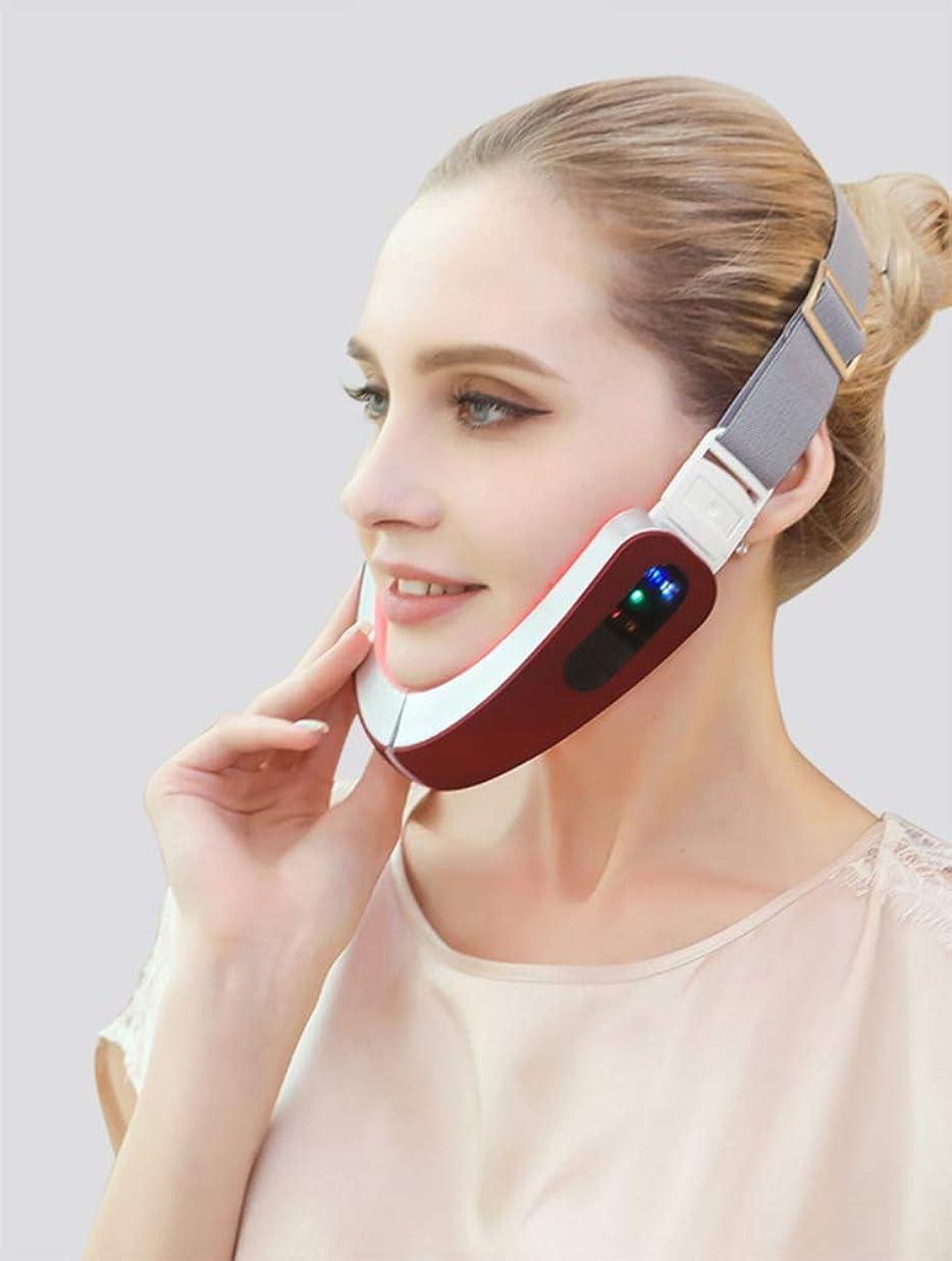 騙すヘッジ優先Lquide Mart Voice Thin Face Artifact Small V Face Bandage Firming Facial Beauty Bar Rejuvenation Massage Instrument Magnetic Therapy