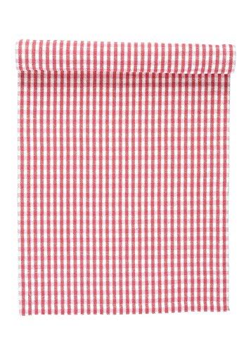Linum OSBY Tischläufer 45x150 D37 mohnrot