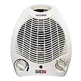 Calefactor ES-2005 3 Funciones Ajustables, termostato Regulable, Ventilador,1000/2000 W