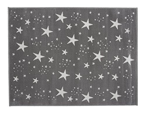 Aratextil Ciel Tapis Enfant, Acrylique, Gris, 140 x 200 cm