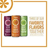 Izze Sparkling Juice Variety Pack, 8.4 Ounce (Variety Pack of 48)