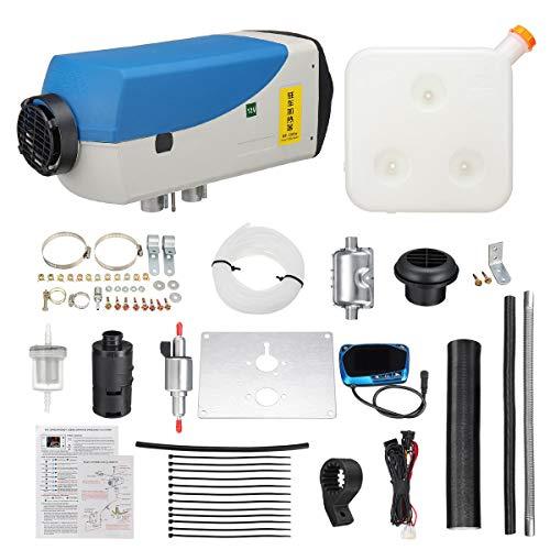 LHF Diesel Calentador de Aire, calefacción del Coche, desempañador Aerosol descongelador, Aparcamiento Estufa de Calentamiento Equipo Conjunto de 12V 5000W