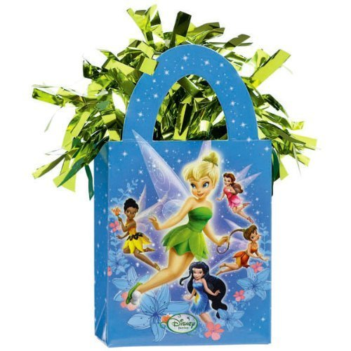 Amscan Disney Tinkerbell Mini Tote Balloon Weight - 5.5 In. x 3 In. Each [Toy] [Toy] by KidsPartyWorld.com