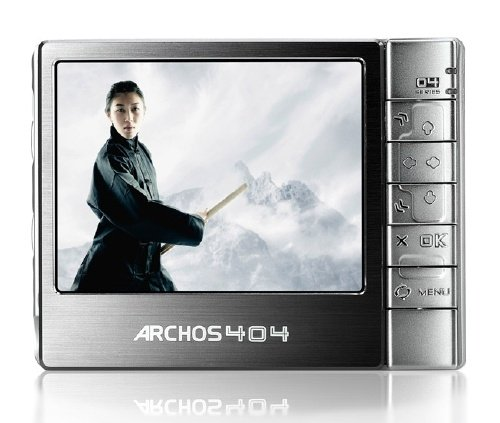 Archos 404 Cam Tragbarer Camcorder und Media-Player 30 GB 8,9 cm (3,5 Zoll) Display