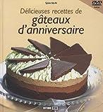 Délicieuses recettes de gâteaux d'anniversaire (1DVD) de Sylvie Aït-Ali (2010) Broché