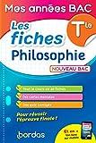 Mes années Bac - Les fiches Philosophie Terminale