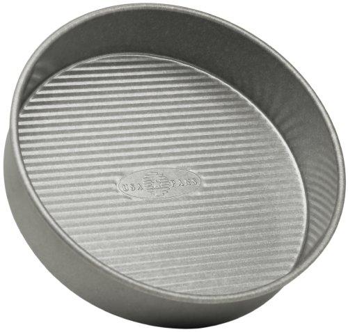USA Pan Bakeware Round Cake Pan, 9 inch