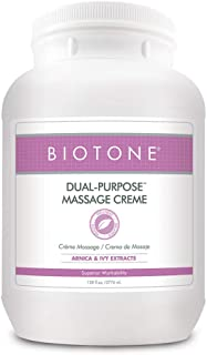 Biotone Dual Purpose Massage Cream, 128 Ounce