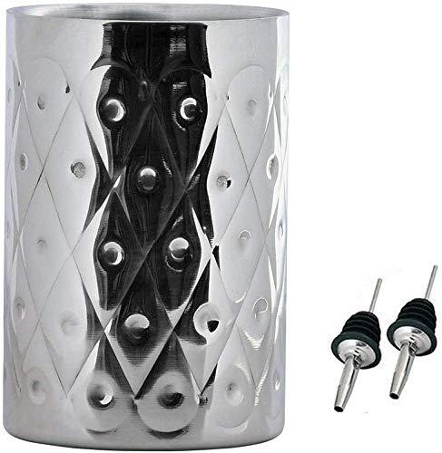 Kosma Edelstahl Designer Weinkühler doppelwandig | Getränkekühler | Weinkühler mit