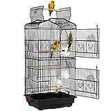Yaheetech Jaula para Pájaros Jaula de Aves Canarios
