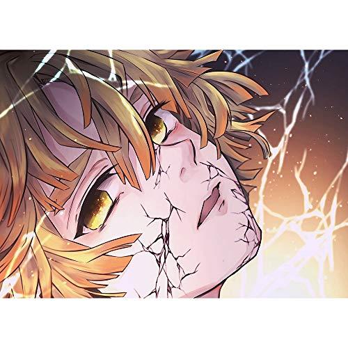 Abkaeh Rompecabezas de 1000 Piezas Chico Anime de Dibujos Animados Puzzle Educational Game Juguete para aliviar estrés Juego Intelectual Cerebro Desafío 50x75cm