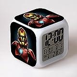 SXWY Reloj Despertador Digital Star Wars, Luces Coloridas Reloj...