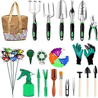 scheda cozywind set attrezzi da giardinaggio 49 pezzi set attrezzi da giardino professionali kit giardinaggio donna (49pz)
