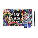 120/180 penna ad acquerello professionale set di matite colorate per pittura solubile in acqua forniture d'arte per studenti d'arte