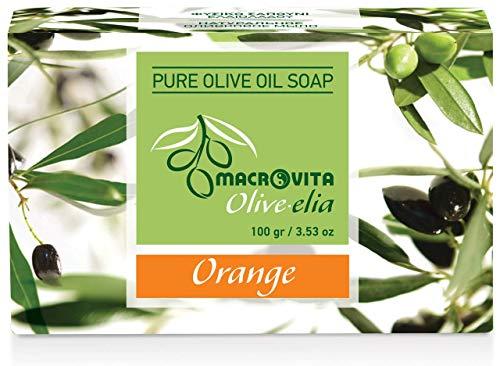 Olive-elia Pure Olijfoliezeep Sinaasappel