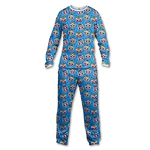 FISHIKII   Pijama Mexican Skull - 100% Poliéster - Otoño/Invierno 2020 - Mujer   Multicolor   XS