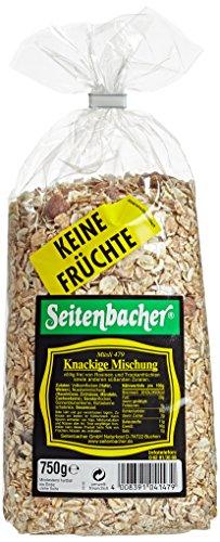 Seitenbacher Müsli Knackige-Mischung, 2er Pack (2 x 750 g Packung)