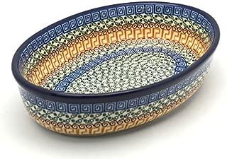 Polish Pottery Baker - Oval - Medium - Autumn