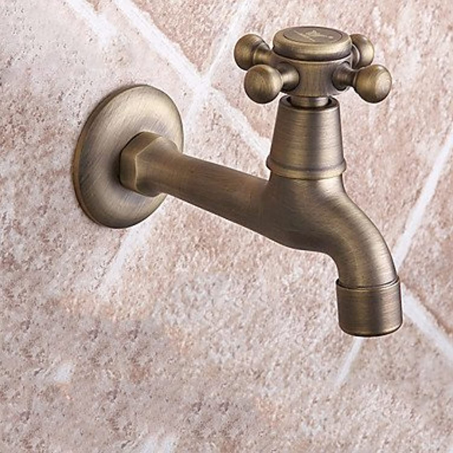 TSAR003 1459.5 Brass Brushed Cold Water Sink Faucet