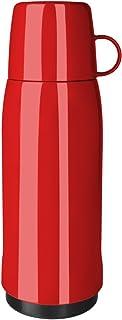 Emsa 502447 ROCKET, Bouteille isotherme avec gobelet, fermeture à vis, 100% hermétique, 750ml, Rouge