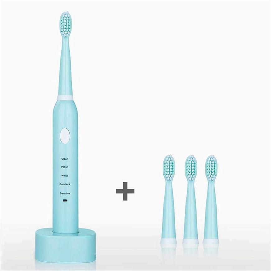 知人移動外側Lcxghs USBの充満基盤が付いている白い大人の防水電動歯ブラシ、歯科医は推薦します。