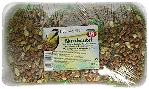 Erdtmanns  Nussbeutel Big Pack 4 x 250 g (1x 1kg)