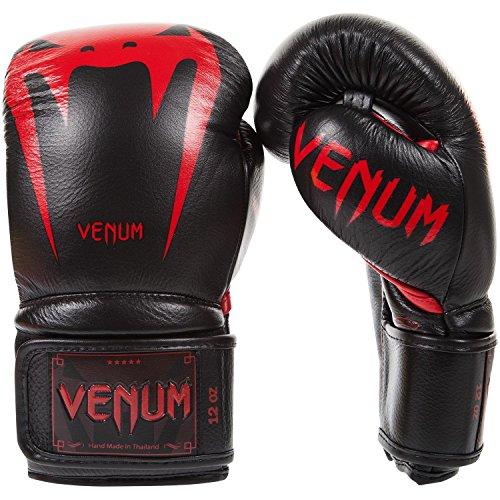 Venum Giant 3.0 Boxing Gloves 10 oz, Black/Red